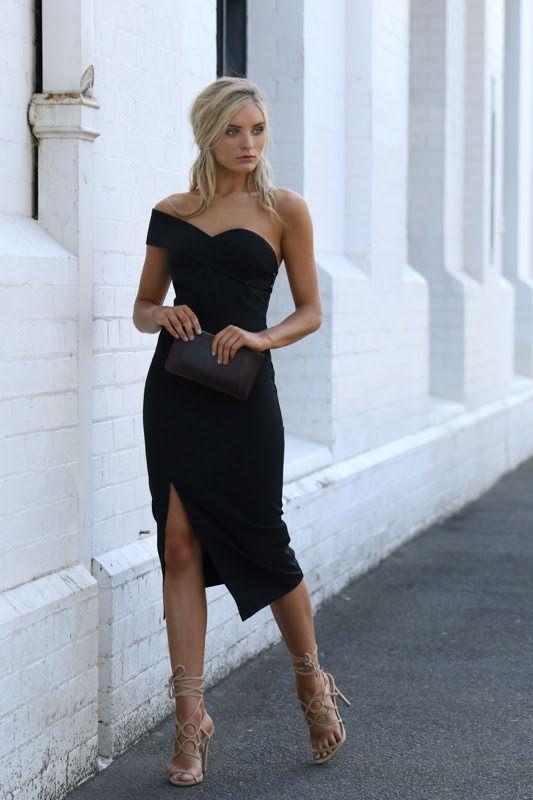 www.stylejury.com.au Midnight Hour Dress $95AUD Classy LBD <3