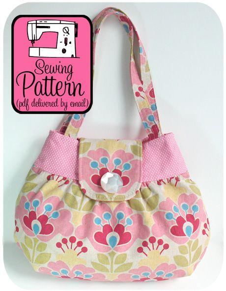 Pixie Handbag PDF Sewing Pattern
