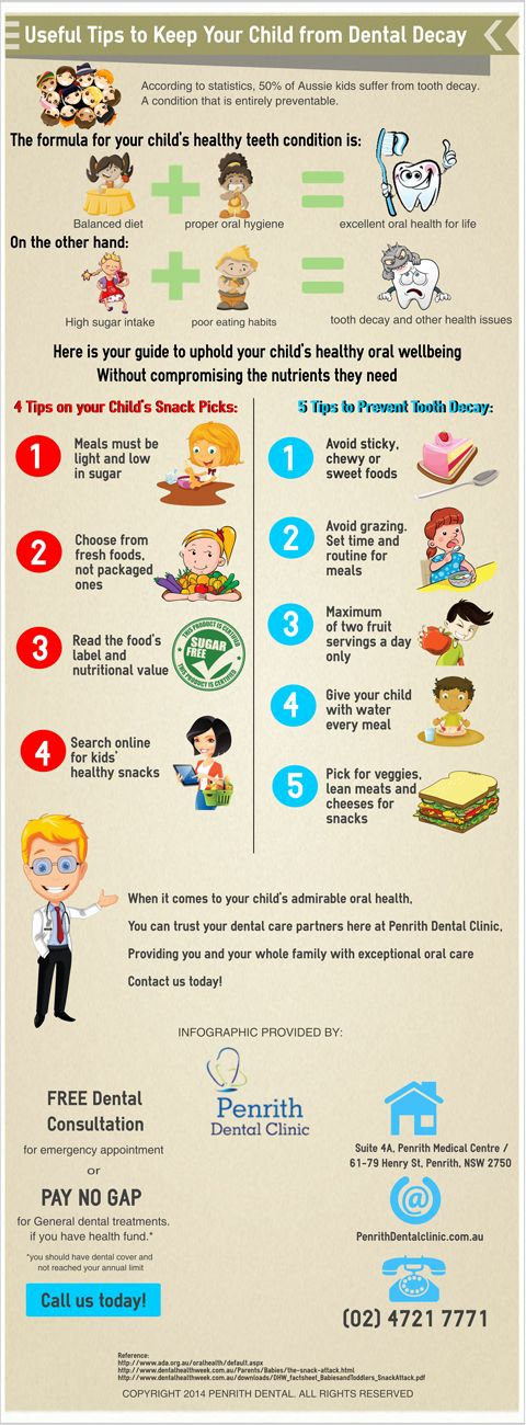 Useful Tips to Keep Your Child from Dental Decay http://penrithdentalclinic.com.au/