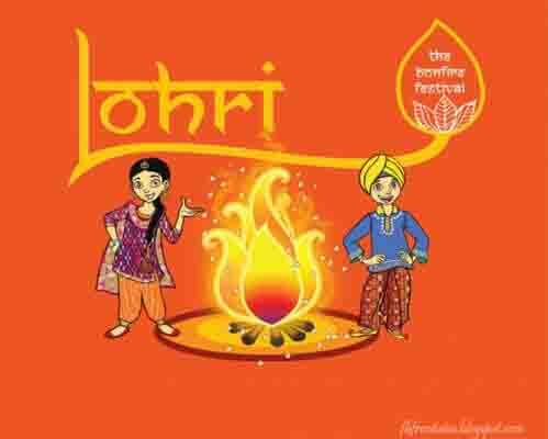 Happy Lohri wishes Wallpaper