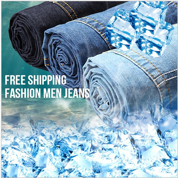 Новая мода 2016 досуг случайные Розничных мужские летние джинсы Ультра тонкий Тонкий джинсовые марка джинсы мужские джинсы брюки бесплатная доставка