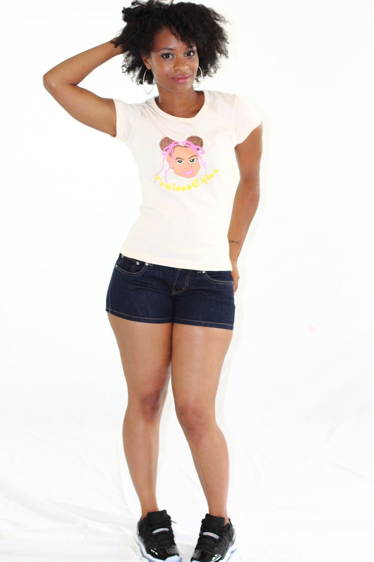 TruLeeChloe Tee (Cream) - $27.00 | Sizes: S, M, L, XL
