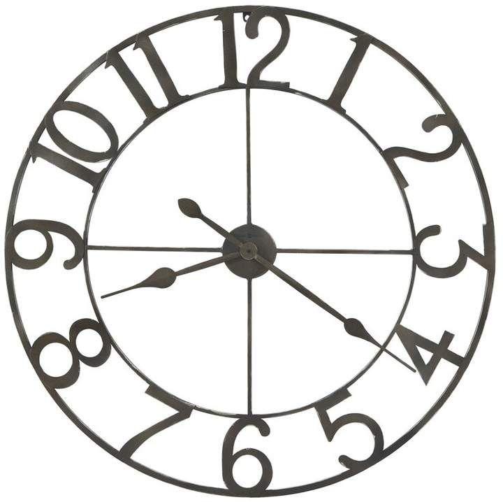 Oversized Artwell 36 Wall Clock In 2021 Oversized Wall Clock Big Wall Clocks Black Wall Clock Howard miller oversized wall clock