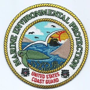 Image result for coast guard patches marine environment