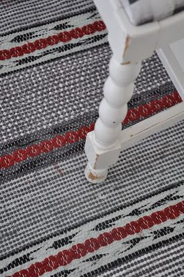RACES BERGAMINI: Mad in rag rugs on Race Berga - blog about a väverskas everyday, inspiration and carpets