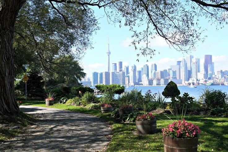 Toronto as seen from Toronto Island