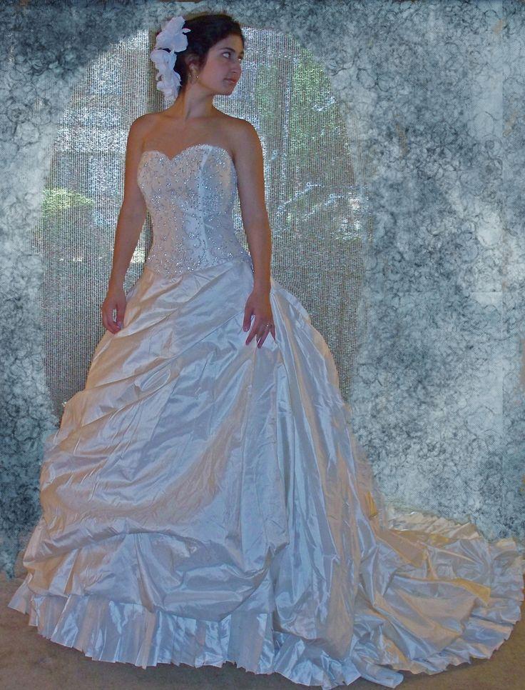 573 best Wedding Dresses images on Pinterest | Short wedding gowns ...