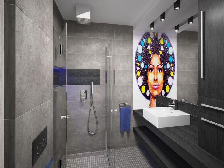 Szara łazienka – 6 sposobów na oryginalną aranżacjęl