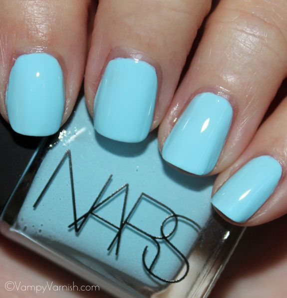 NARS KutkiNails Art, Nail Polish, Favorite Colors, Tiffany Blue, Baby Blue Nails, Nails Polish, Electric Blue, Lights Blue, Cinderella Nails