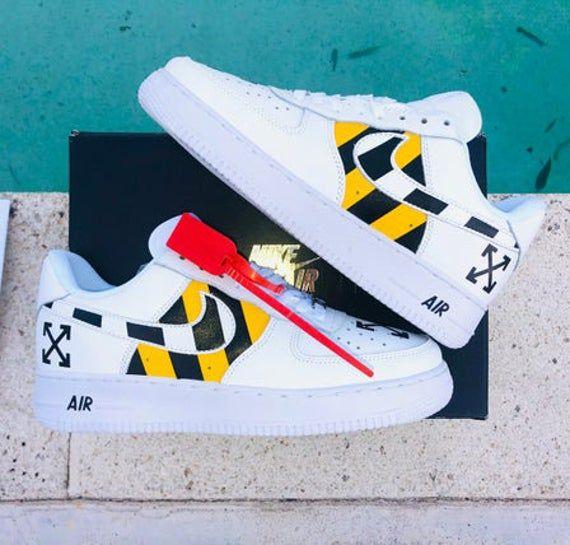Custom Nike air force 1 Off White