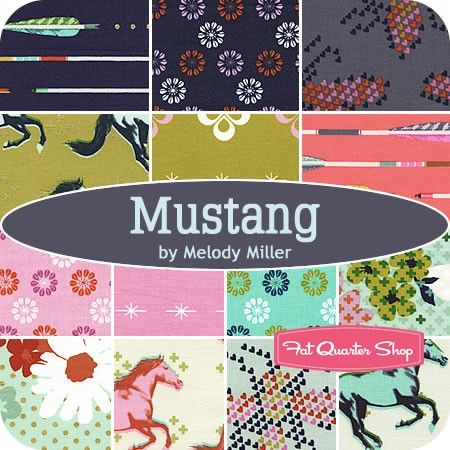 Mustang Yardage Melody Miller for Cotton + Steel Fabrics