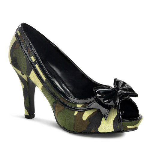 Camo High Heel Shoes and Boots for Women | http://www.webnuggetz.com/camo-shoes-for-women/