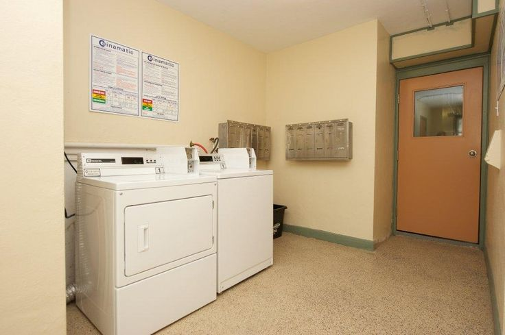 On-site laundry suites