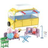 Character Options Peppa Pig Camper Van Playset Retract the awning and prepare for Peppa Pig s BBQ This fantastic Camper Van Playset includes Peppa Pig George Pig Mummy [amp