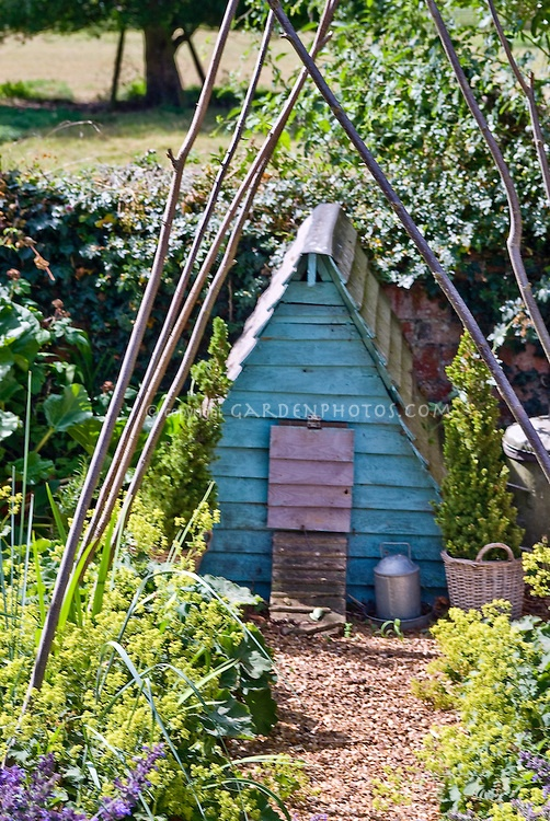 Chicken bird poultry house, coop   Plant & Flower Stock Photography: GardenPhotos.com