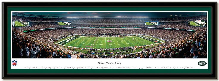 Poster of NY Jets New Meadowlands Stadium Home of the New York Jets NFL football team