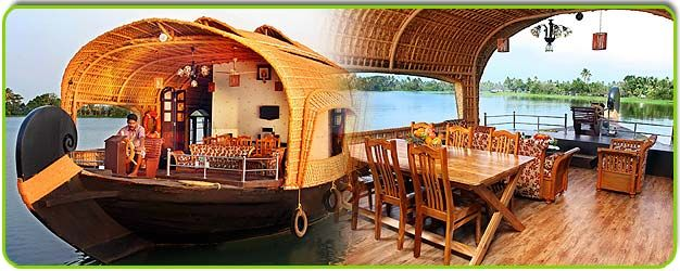 Kerala boat house Tour Packages boat house booking, Kerala Boat ...