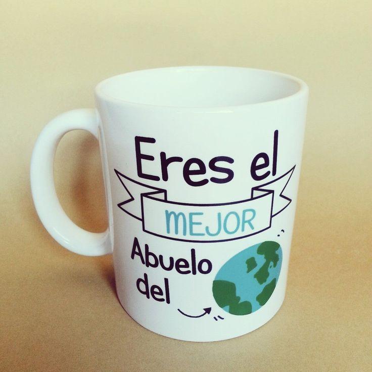 taza eres el mejor abuelo del mundo apta para el uso de lavavajillas y microondas http://www.lapuertafalsaonline.com/categoria-producto/tazas/page/2/