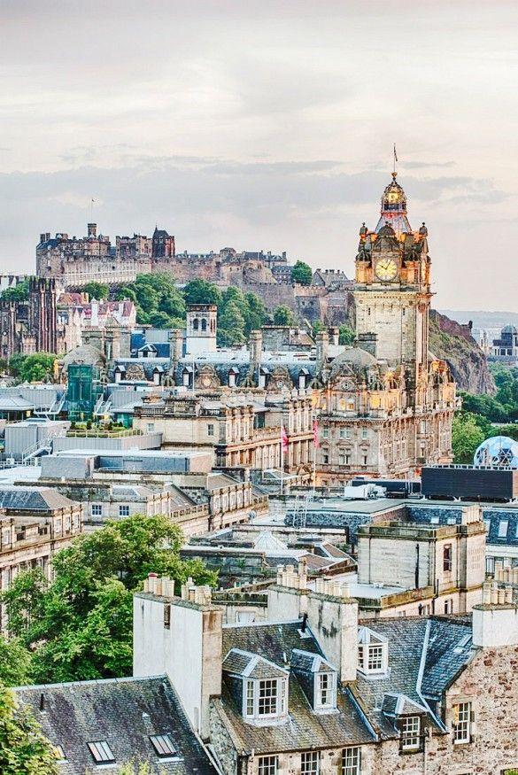 Go Here, Not There: 10 Underrated European Cities via @mydomaine | Skip London, Visit Edinburgh