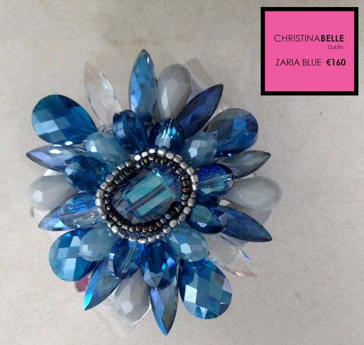 Zaria Blue Cuff.  €160.  ChristinaBelle.  0868260001 (Ireland).  353861347226 (Outside Ireland).