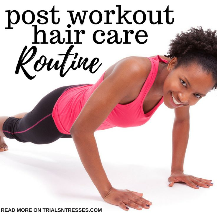 Want to get in the gym but don't want to ruin your hair? I feel you! Here's the perfect post workout hair care routine for your natural hair.