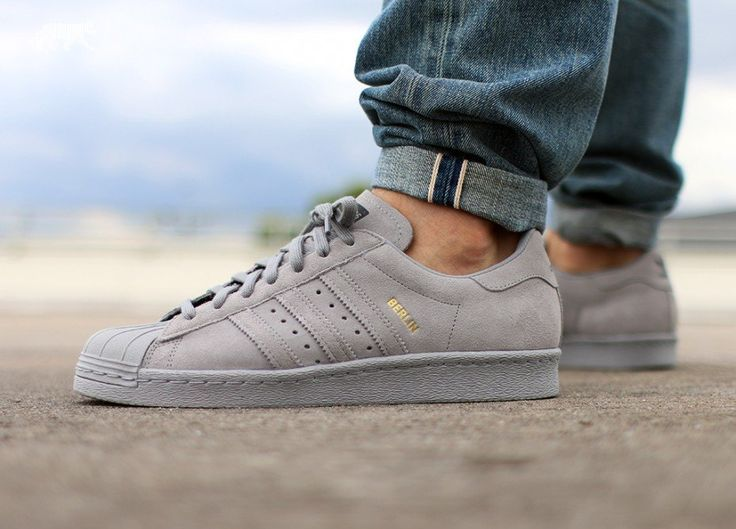 adidas Superstar 80s *City Series Berlin* (Light Granite / Light Granite / Light Granite)