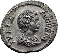 JULIA DOMNA 199AD Authentic Ancient Silver Roman Coin Pietas Loyalty i63412 http://lukebadcoe.blogspot.com/2017/08/julia-domna-199ad-authentic-ancient.html