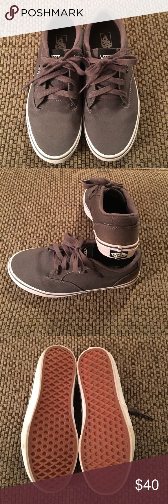 VANS sneakers Boys VANS sneakers. EXCELLENT condition.  Only worn once before he grew out of them. Vans Shoes Sneakers