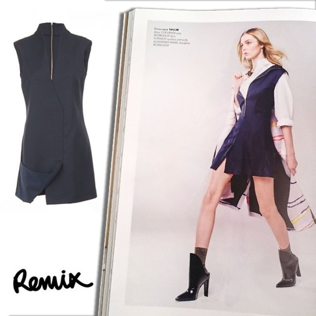 taylor as seen in Remix magazine. #remixmagazine #taylor #style #taylorboutique #nzfashion