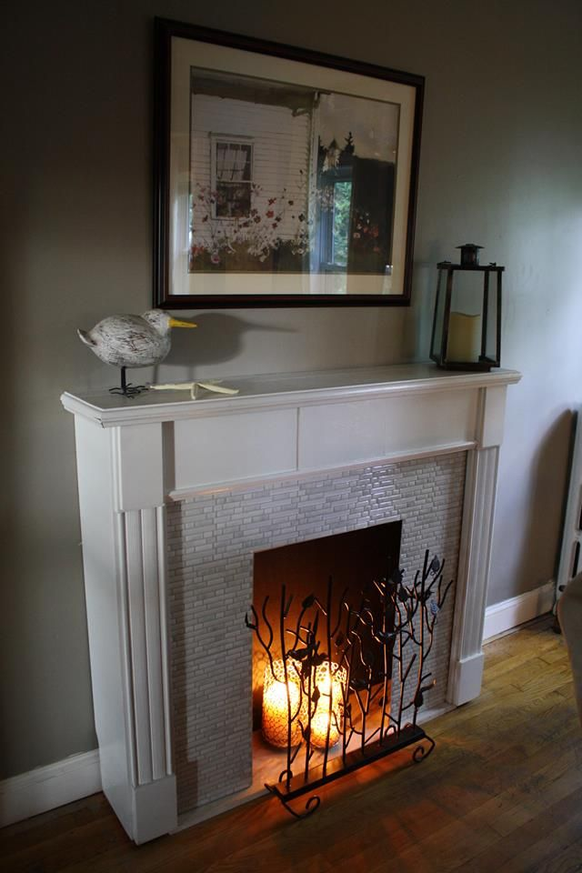 141 best My Fake Fireplace images on Pinterest | Fireplace ideas ...