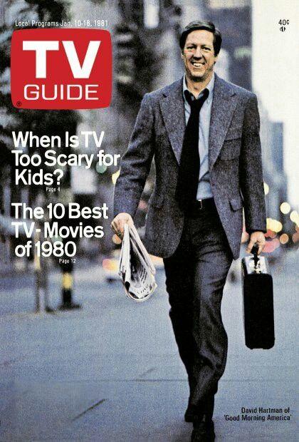 David Hartman; Good Morning America!! TV Guide.