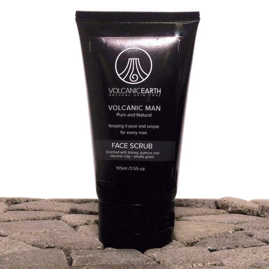 Men's Face Scrub (with Tamanu oil)  3.55oz /105ml