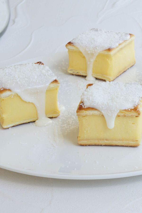 "#RecipeoftheDay: Divine Vanilla Slice by homecooklover - ""Without a doubt 5 stars. If you have a sweet tooth this is the dish for you. Yum."" - kaylene king"