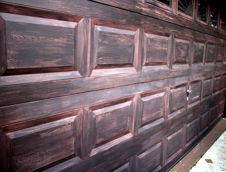 7 best cool corbels images on pinterest beautiful homes for Wood grain steel garage doors