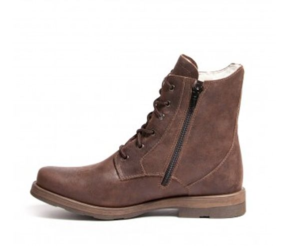 ANFIBIO - Men's winter leather boots. Made in Canada.