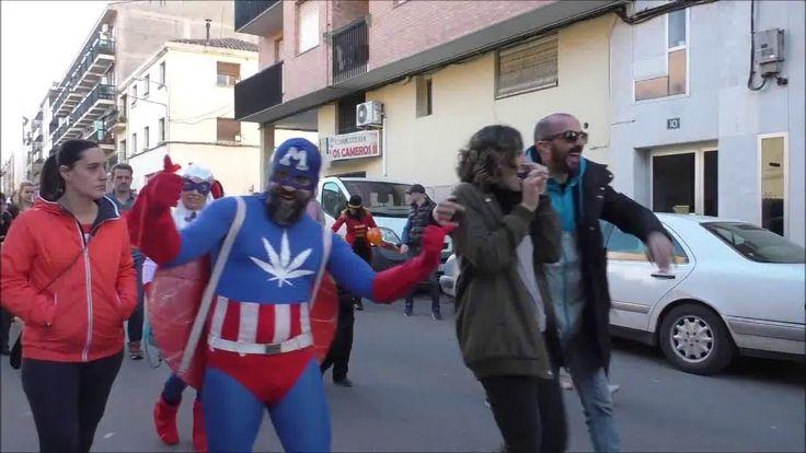 Desfile de Carnaval 2017 por las calles de Albelda