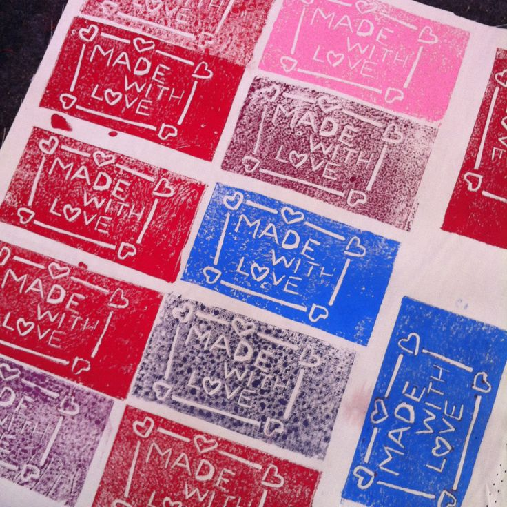 #dyeandprints Learn how to make your own hand carved stamps for printing http://www.facebook.com/dyeandprints/events