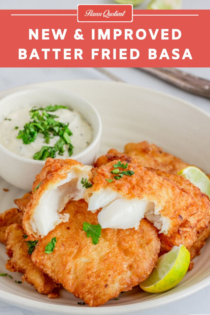 The most popular recipe of my blog, batter fried basa, got an all-new makeover today and became even more delish and mor…