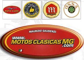 web: motosclasicasmg.com e-mail: e-mail tel.: 666412363 y 667453510 lugar: Madrid Dto. manetero: NO – MotoClasicasMG.com, Ventas de motos y recambios de motos, asi como de libros, especialidad en Guzzi, Montesa y Bultaco. Le puede interesar:Gustavo Bultaco Motos mas que viejas... Dakaray - DerbiA.S.M. ScooterRepuestos Doble EMotos Antiguas HDCometa RestauracionesMotos Disseny CambrilsMotos Vidal, Motos del AbueloDucati …