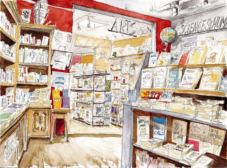 La Rochelle, Librairie Les Saisons