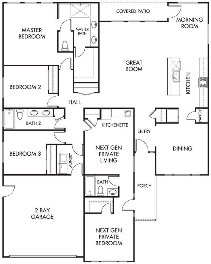 Best 25 next gen homes ideas on pinterest house layout for Multigenerational homes for sale