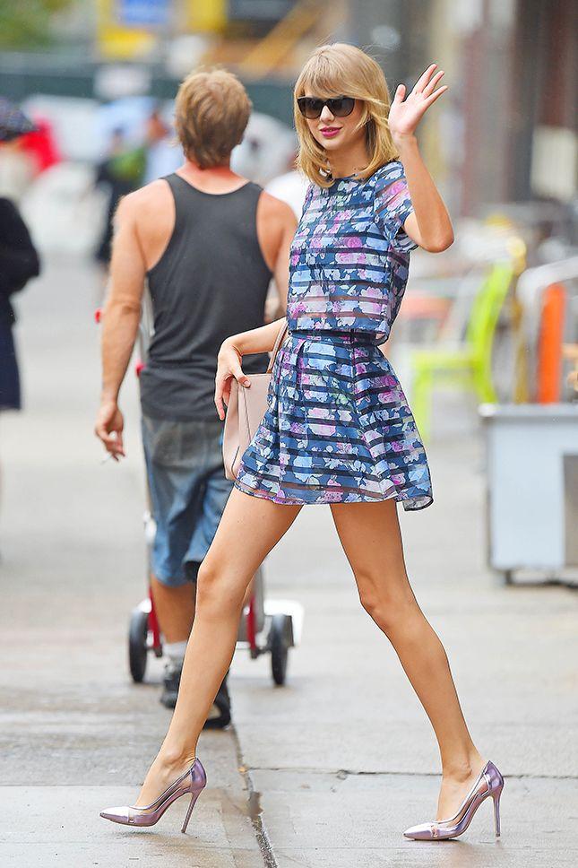 Тейлор Свифт в H&M