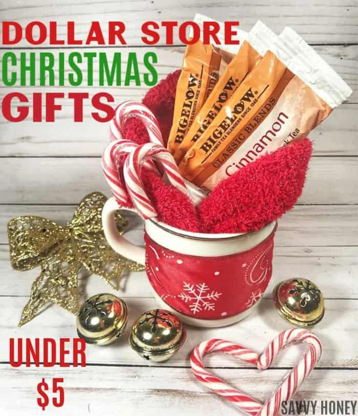 DIY Dollare Store Gifts! Cheap Dollar Tree Gift Ideas! Inexpensive handmade Christmas gifts for friends, family & co-workers #christmasgifts #christma…