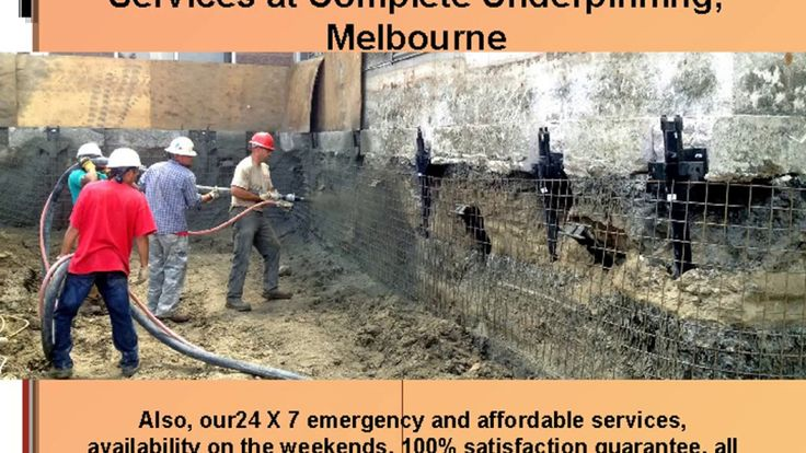 Complete Underpinning Reblocking & Underpinning has been professionally restumping, underpinning and reblocking houses around Melbourne and Victoria.