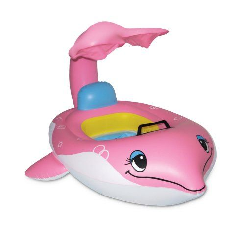 Poolmaster 81559 Dolphin Baby Seat with Top  LearntoSwim *** Details can be found by clicking on the image.Note:It is affiliate link to Amazon.
