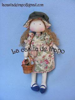 Mimin Dolls: menina florista