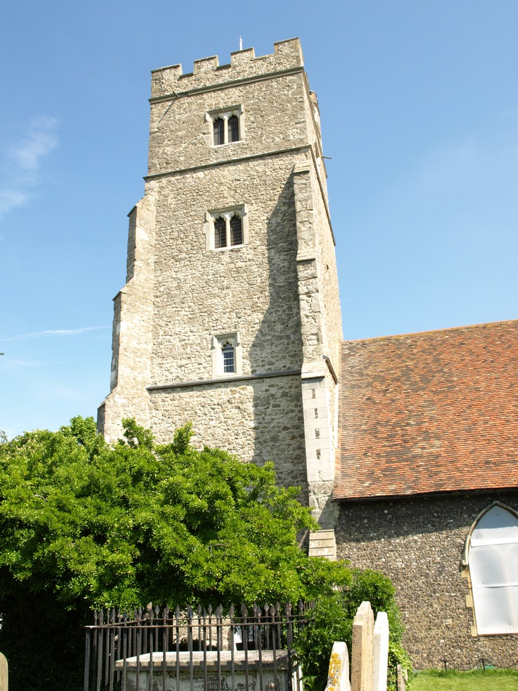 St. Margaret's Church, Rainham, England. The most peaceful place and the resting place of past generations.