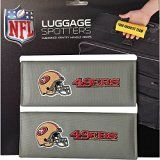 Luggage Spotters NFL San Francisco 49ers Luggage Spotter (Gray)