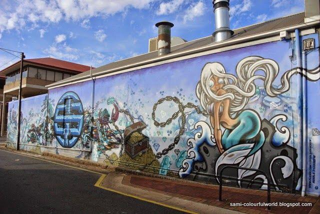 sami's colourfulworld: Street Art in Glenelg
