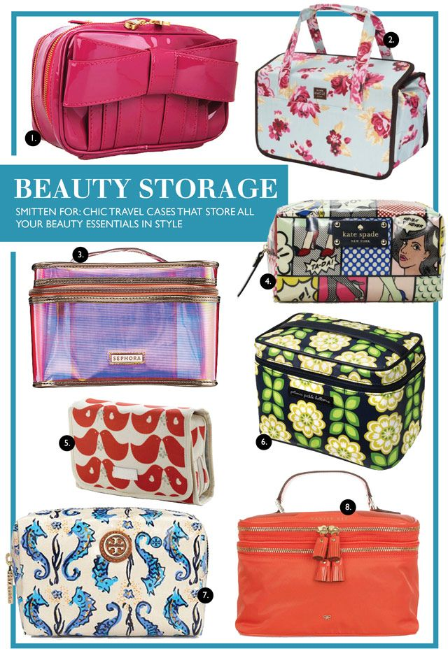 #Travel accessories, stylish toiletry kits,  travel cases, & makeup bags #organized #beauty